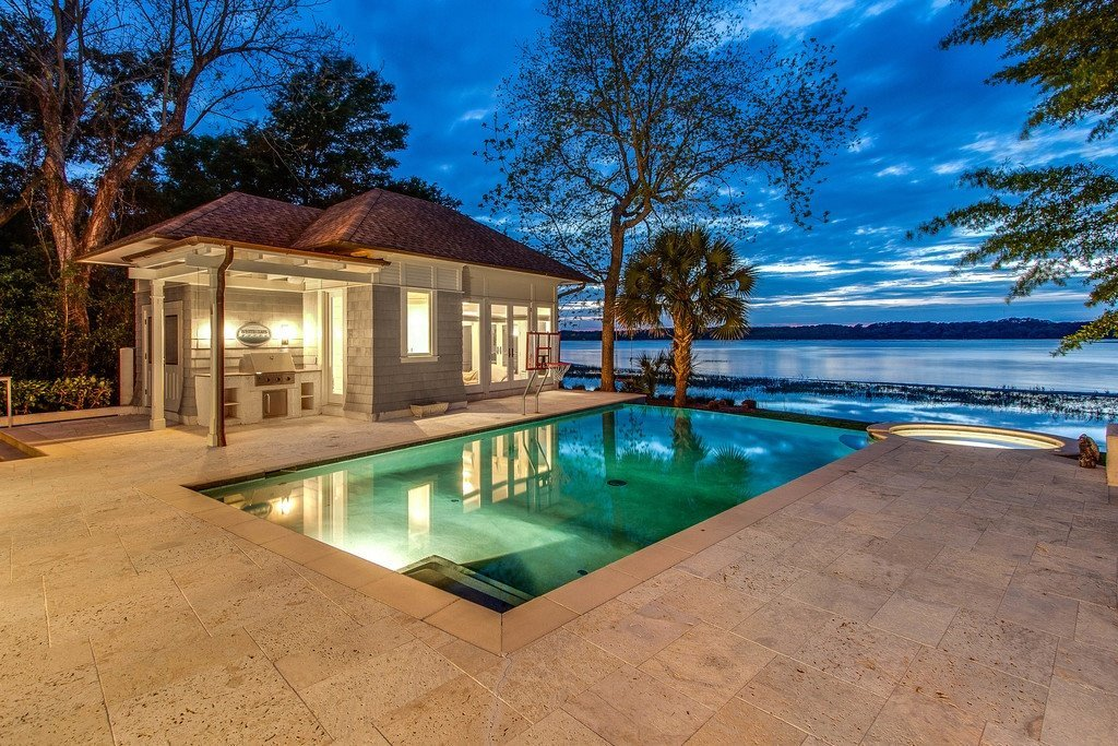 Hilton Head Plantation Waterfront Home