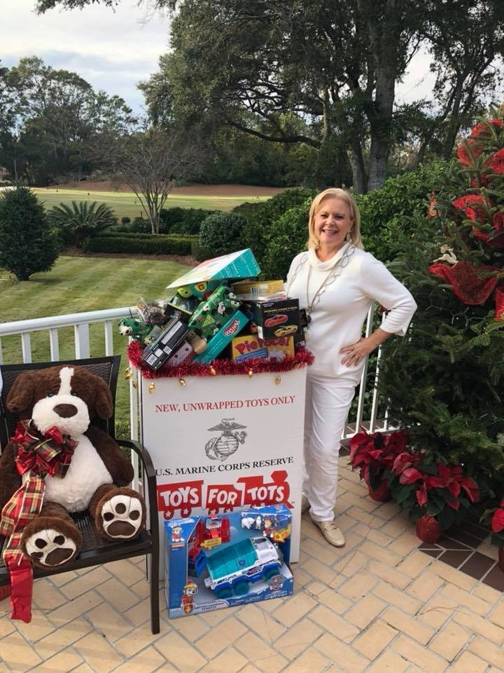Angela Barbic Toys for Tots