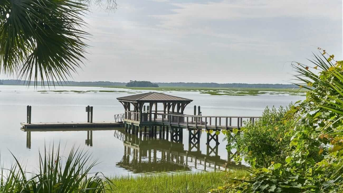 Palmetto Bluff Dock