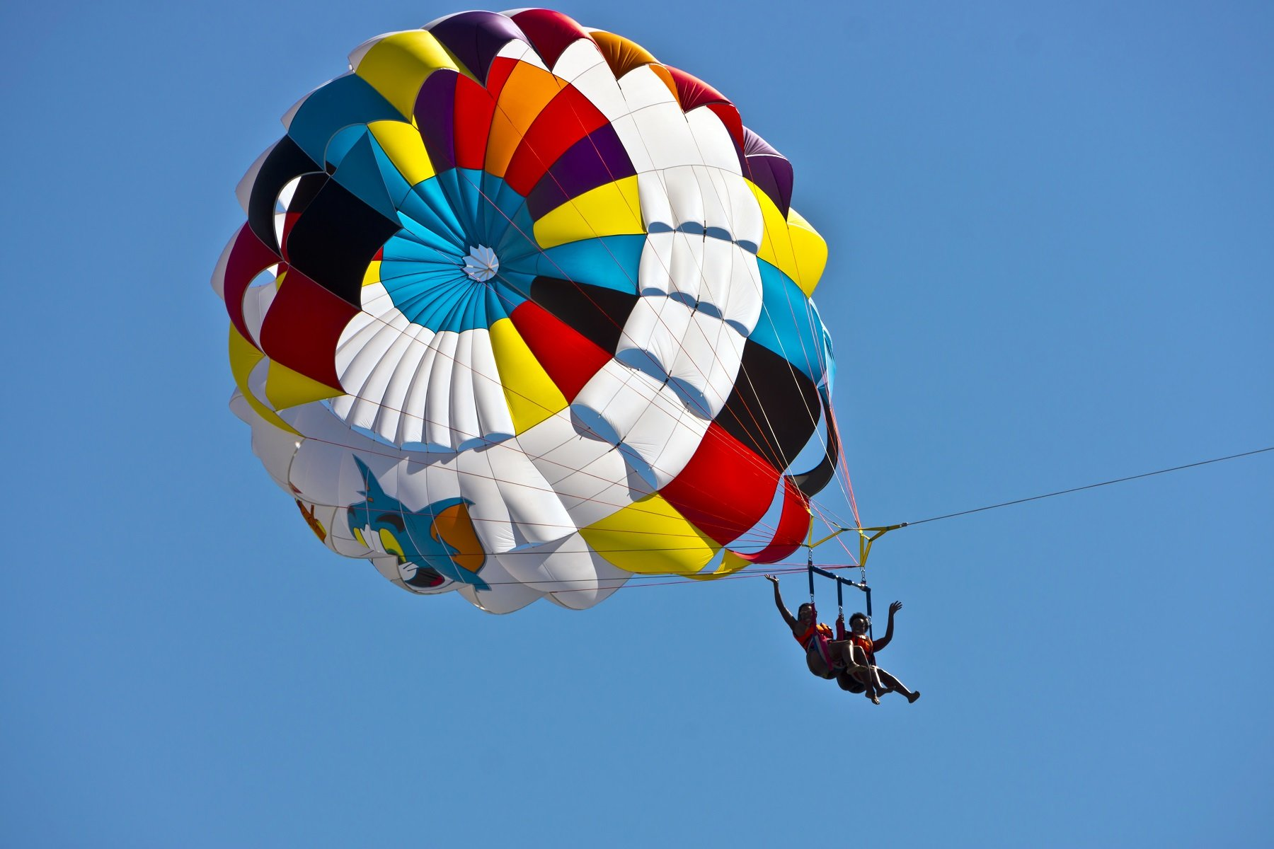 Parasailing on Hilton Head