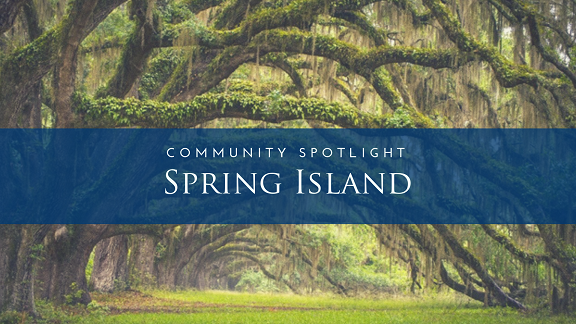 Community Spotlight Spring Island