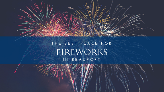 Fireworks in Beaufort
