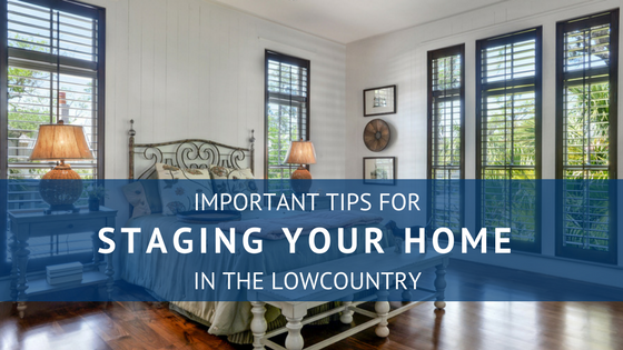 tips for staging your home in the lowcountry